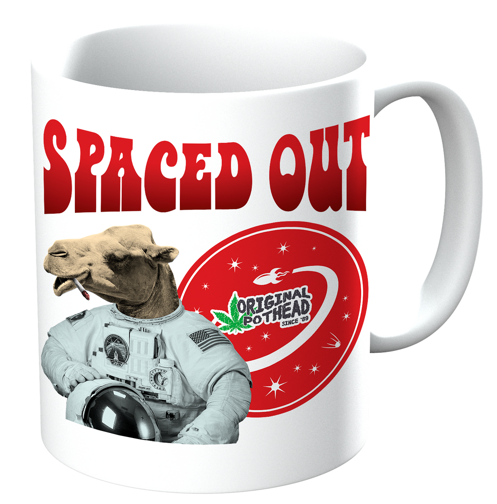 Potheads Spaced Out Camel Mug - The Official Aunty Acid Store