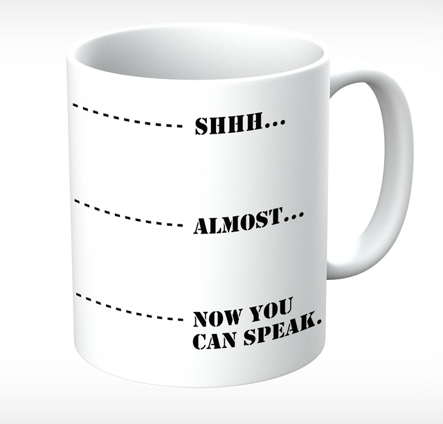 Grumpy Old Gits Now You Can Speak Mug