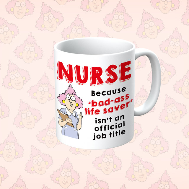 Aunty Acid Nurse Because Mug - The Official Aunty Acid Store