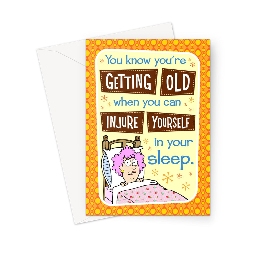 Sleep Greeting Card - The Official Aunty Acid Store