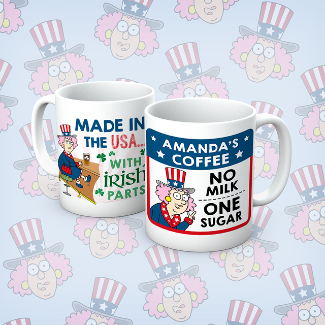 Aunty Acid Made In USA Personalised Mug - The Official Aunty Acid Store