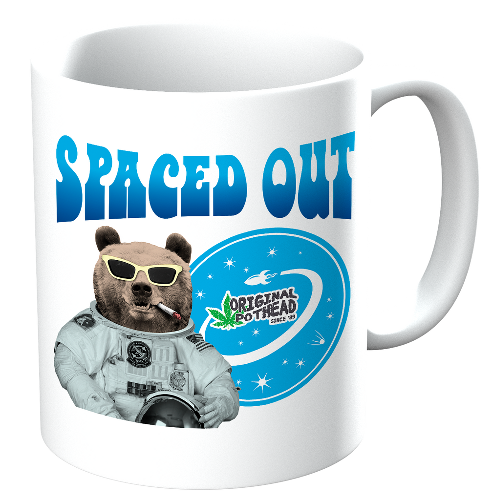 Potheads Spaced Out Bear Mug - The Official Aunty Acid Store