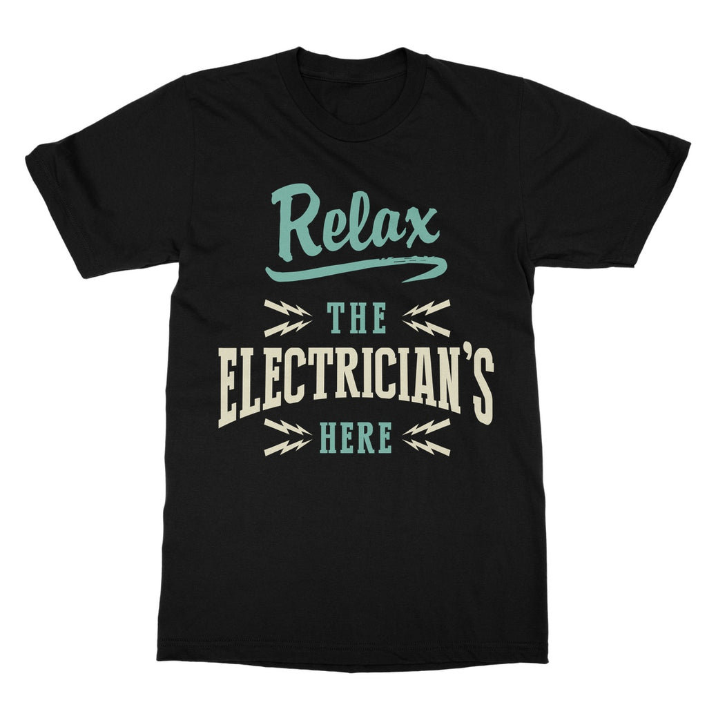 Tradesman Relax Electrician T-Shirt - The Official Aunty Acid Store