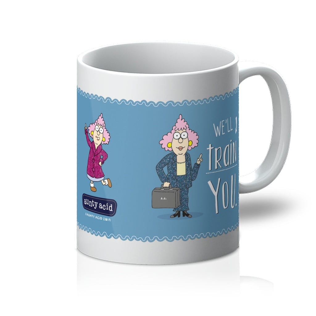 You Don't Have To Be Crazy Mug - The Official Aunty Acid Store