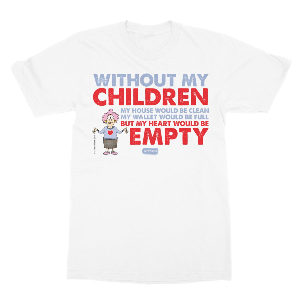 Aunty Acid Children Softstyle T-Shirt - The Official Aunty Acid Store