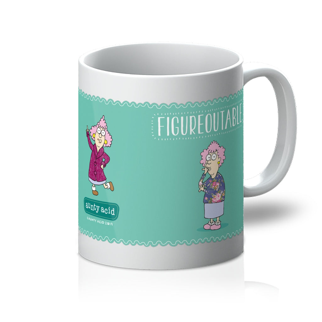 Figureoutable Mug - The Official Aunty Acid Store