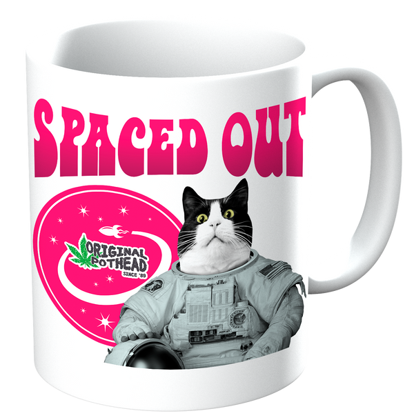 Potheads Spaced Out Cat Mug