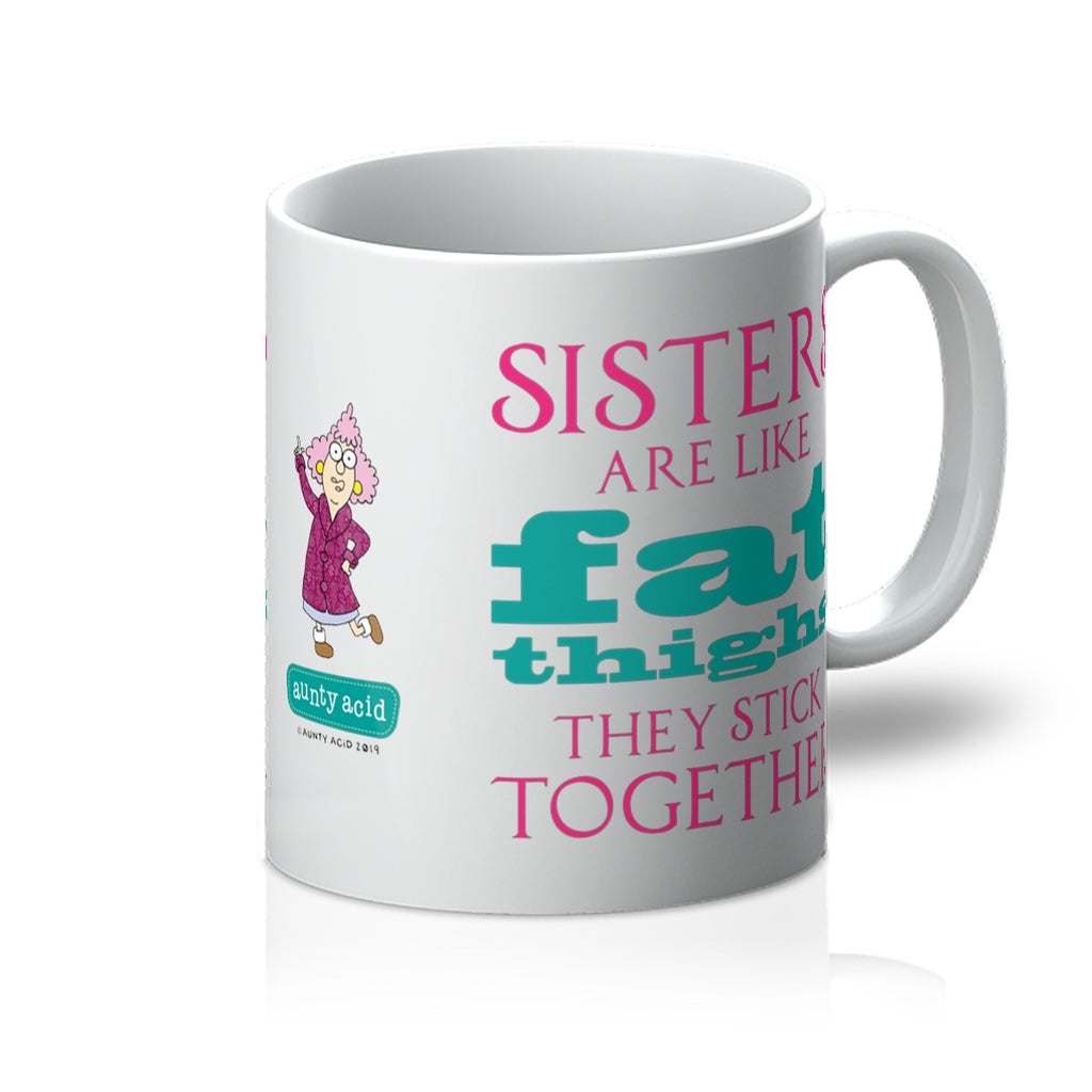 Aunty Acid Stick Together Mug - The Official Aunty Acid Store