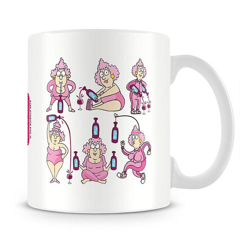 Aunty Acid Aerobics Mug - The Official Aunty Acid Store