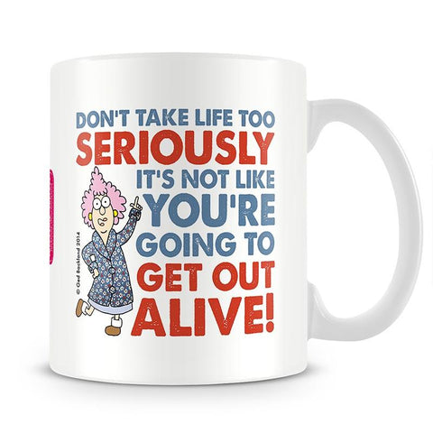 Aunty Acid Alive Mug - The Official Aunty Acid Store