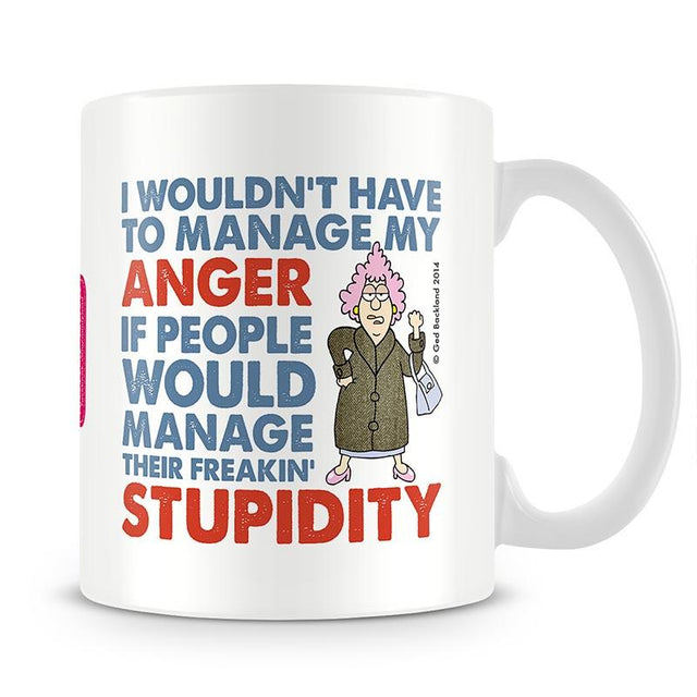 Aunty Acid Anger Mug - The Official Aunty Acid Store