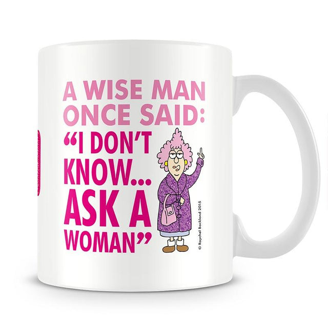 Aunty Acid Ask A Woman Mug - The Official Aunty Acid Store