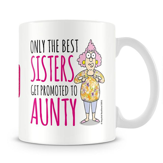 Aunty Acid Aunty To Sister Mug - The Official Aunty Acid Store