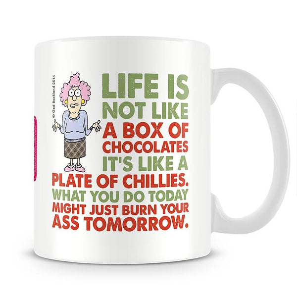 Aunty Acid Box Of Chocolate Mug - The Official Aunty Acid Store