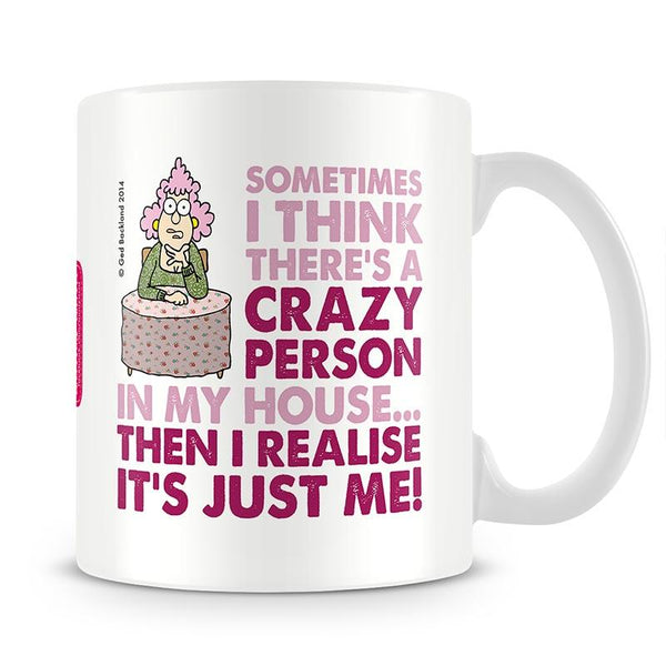 Aunty Acid Crazy Person Mug - The Official Aunty Acid Store