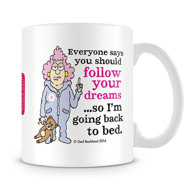 Aunty Acid Dream Mug - The Official Aunty Acid Store
