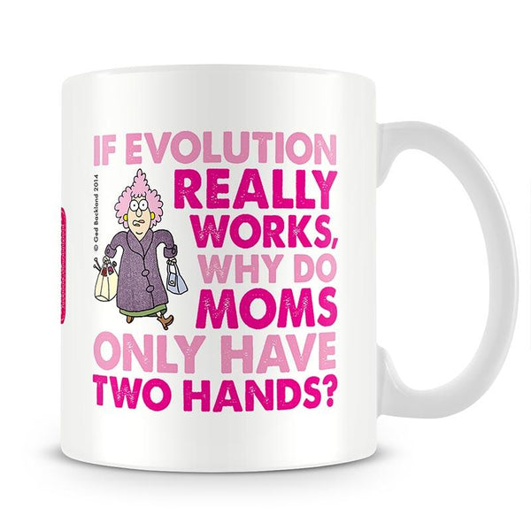 Aunty Acid Evolution Mothers Day Mug - The Official Aunty Acid Store