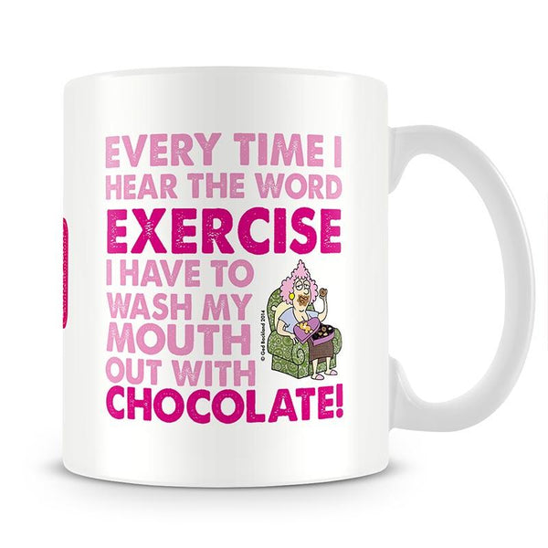 Aunty Acid Exercise Mug - The Official Aunty Acid Store