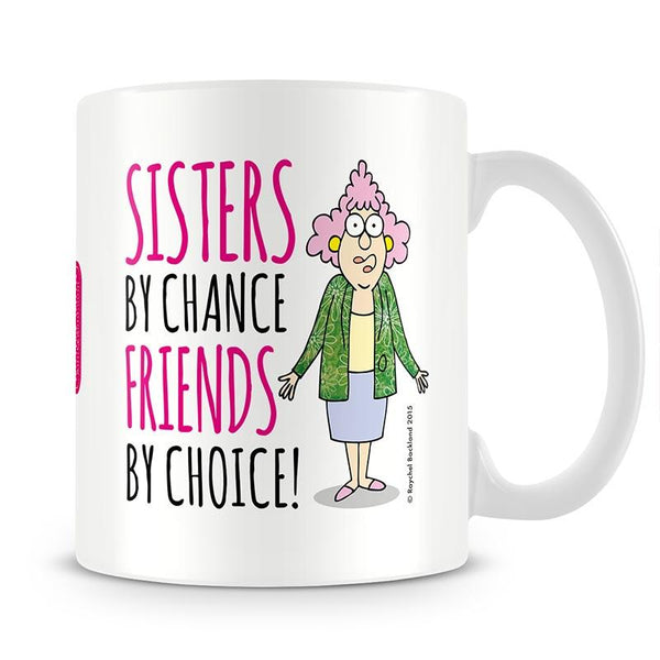 Aunty Acid Friends By Choice Mug - The Official Aunty Acid Store