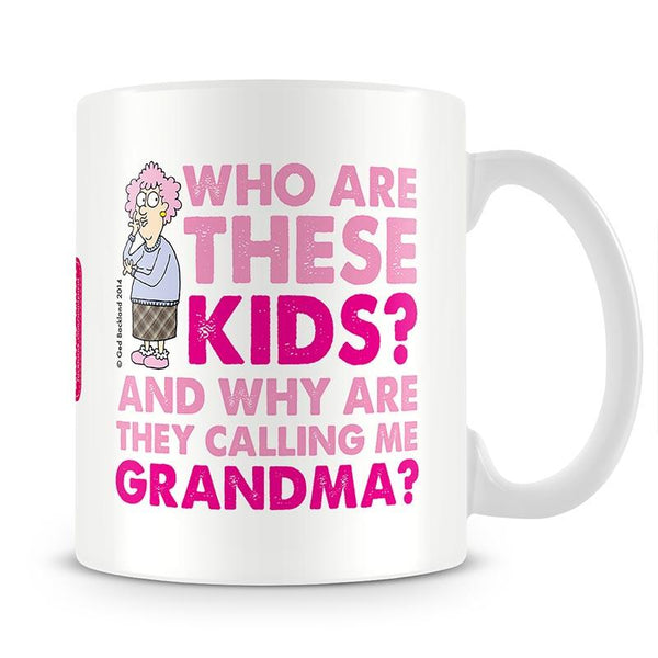 Aunty Acid Grandma Mug - The Official Aunty Acid Store