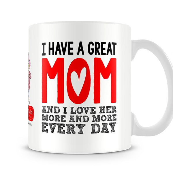 Aunty Acid Great Mom Mug - The Official Aunty Acid Store