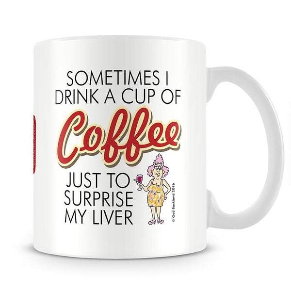 Aunty Acid Liver Mug - The Official Aunty Acid Store