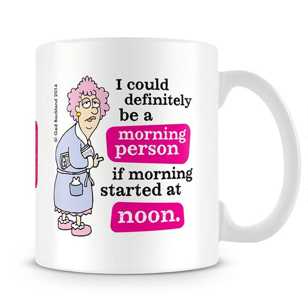 Aunty Acid Noon Mug - The Official Aunty Acid Store