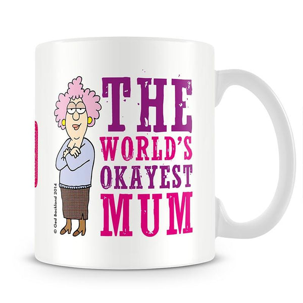 Aunty Acid Okayest Mum Mug - The Official Aunty Acid Store