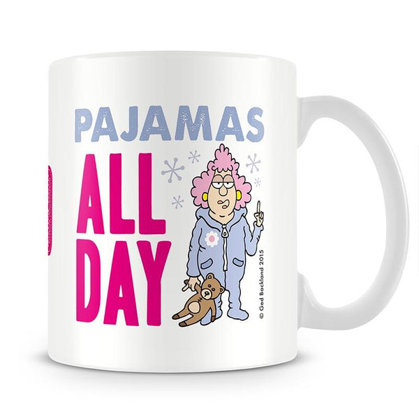 Aunty Acid Pajamas Mug - The Official Aunty Acid Store