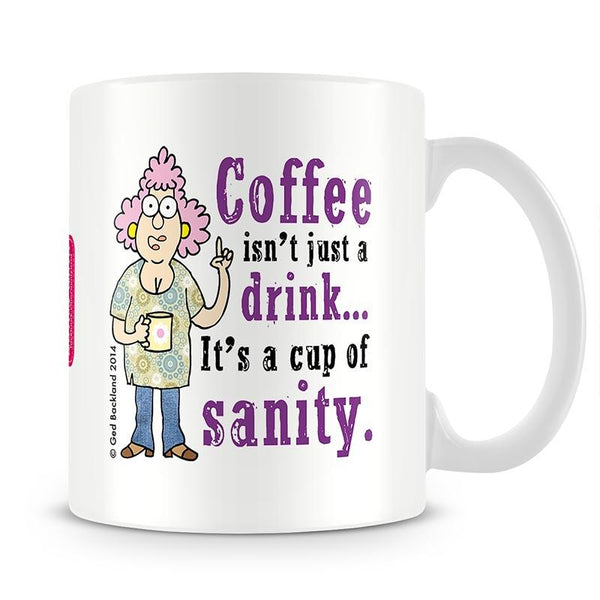 Aunty Acid Sanity Mug - The Official Aunty Acid Store