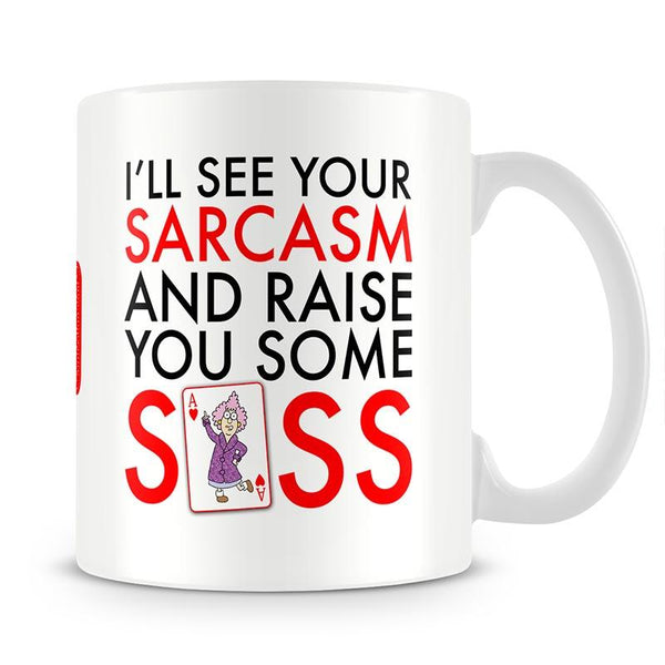 Aunty Acid Sass Mug - The Official Aunty Acid Store