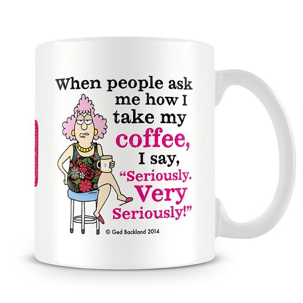 Aunty Acid Seriously Mug - The Official Aunty Acid Store