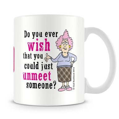Aunty Acid Unmeet Mug - The Official Aunty Acid Store