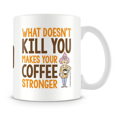 Aunty Acid What Doesnt Kill You Mug - The Official Aunty Acid Store