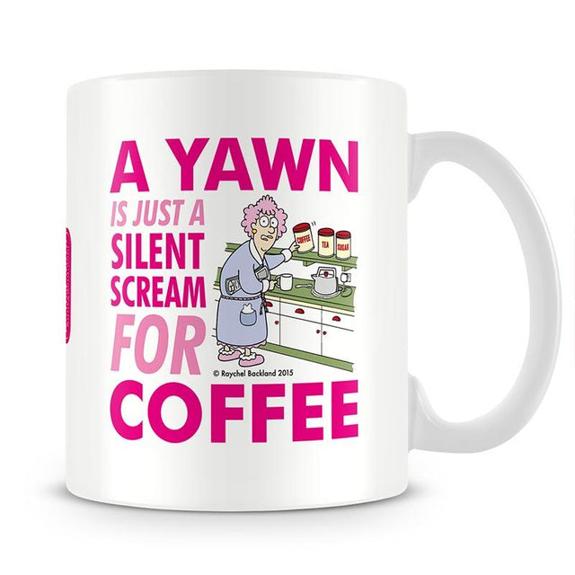 Aunty Acid Yawn Mug - The Official Aunty Acid Store