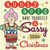 Aunty Acid Christmas Hardcover Book