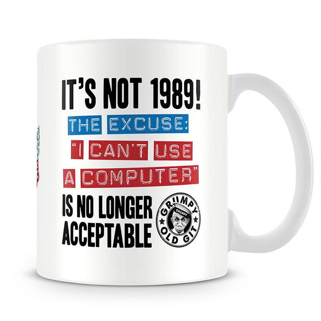 Grumpy Old Gits 1989 Mug - The Official Aunty Acid Store