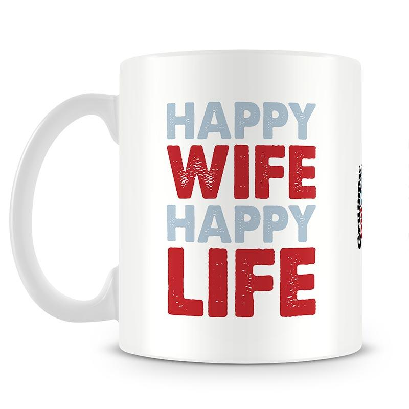 Grumpy Old Gits Happy Wife Happy Life Mug - The Official Aunty Acid Store