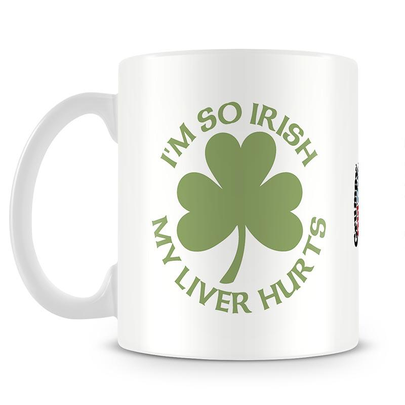 Grumpy Old Gits Im So Irish Mug - The Official Aunty Acid Store