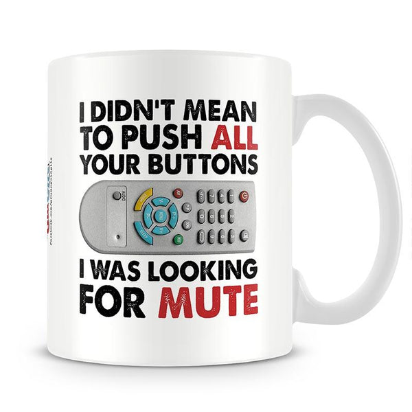 Grumpy Old Gits Mute Mug - The Official Aunty Acid Store