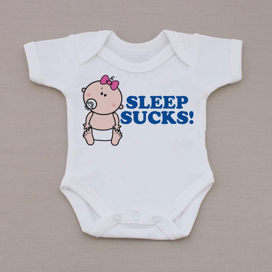 Goochicoo Sleep Sucks Babygrow