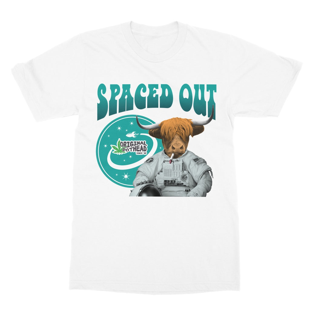Potheads Spaced Out Cow T-Shirt - The Official Aunty Acid Store