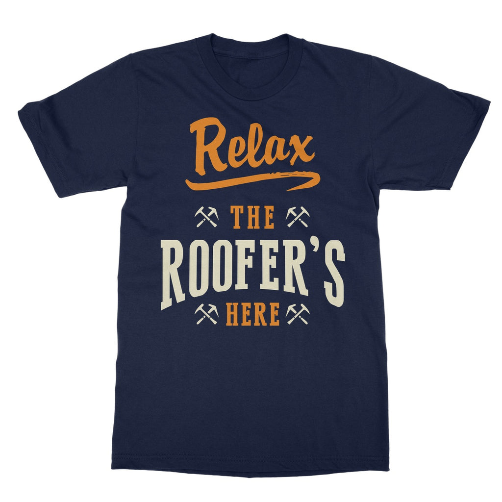 Tradesman Relax Roofer T-shirt - The Official Aunty Acid Store