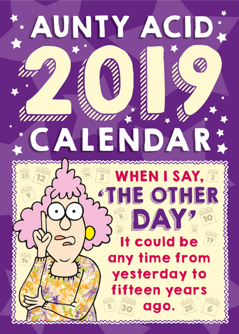 Aunty Acid  Wall Calendar (2019) - The Official Aunty Acid Store