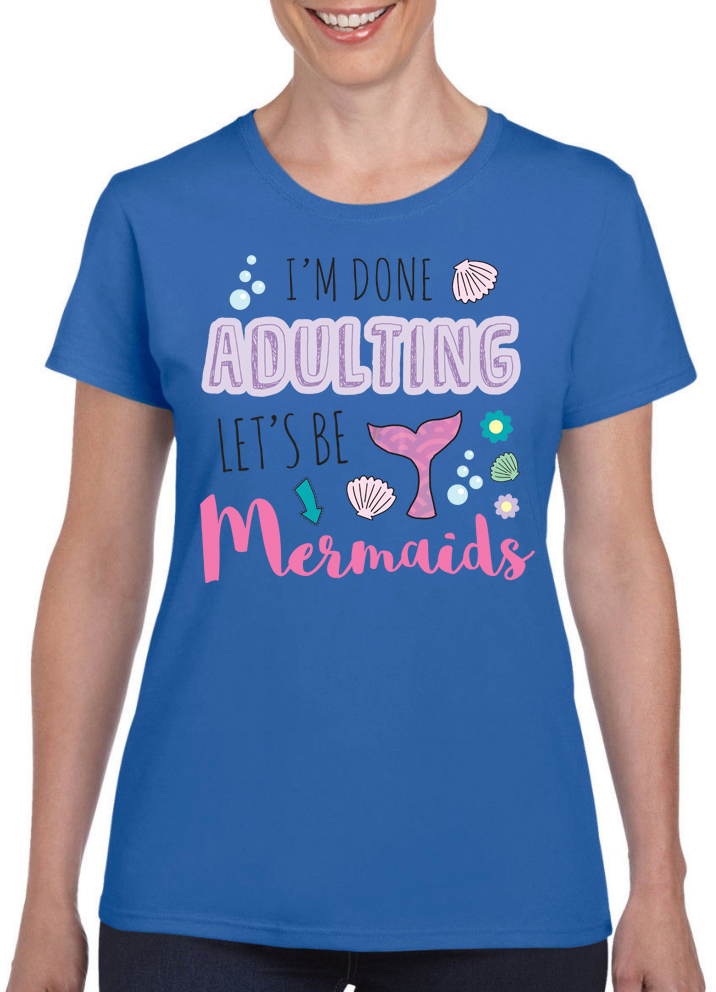 Queens Of Sass Adulting T-Shirt - The Official Aunty Acid Store