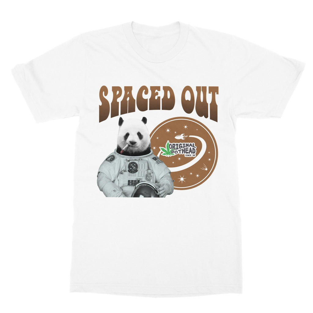 Potheads Spaced Out Panda 2 T-Shirt