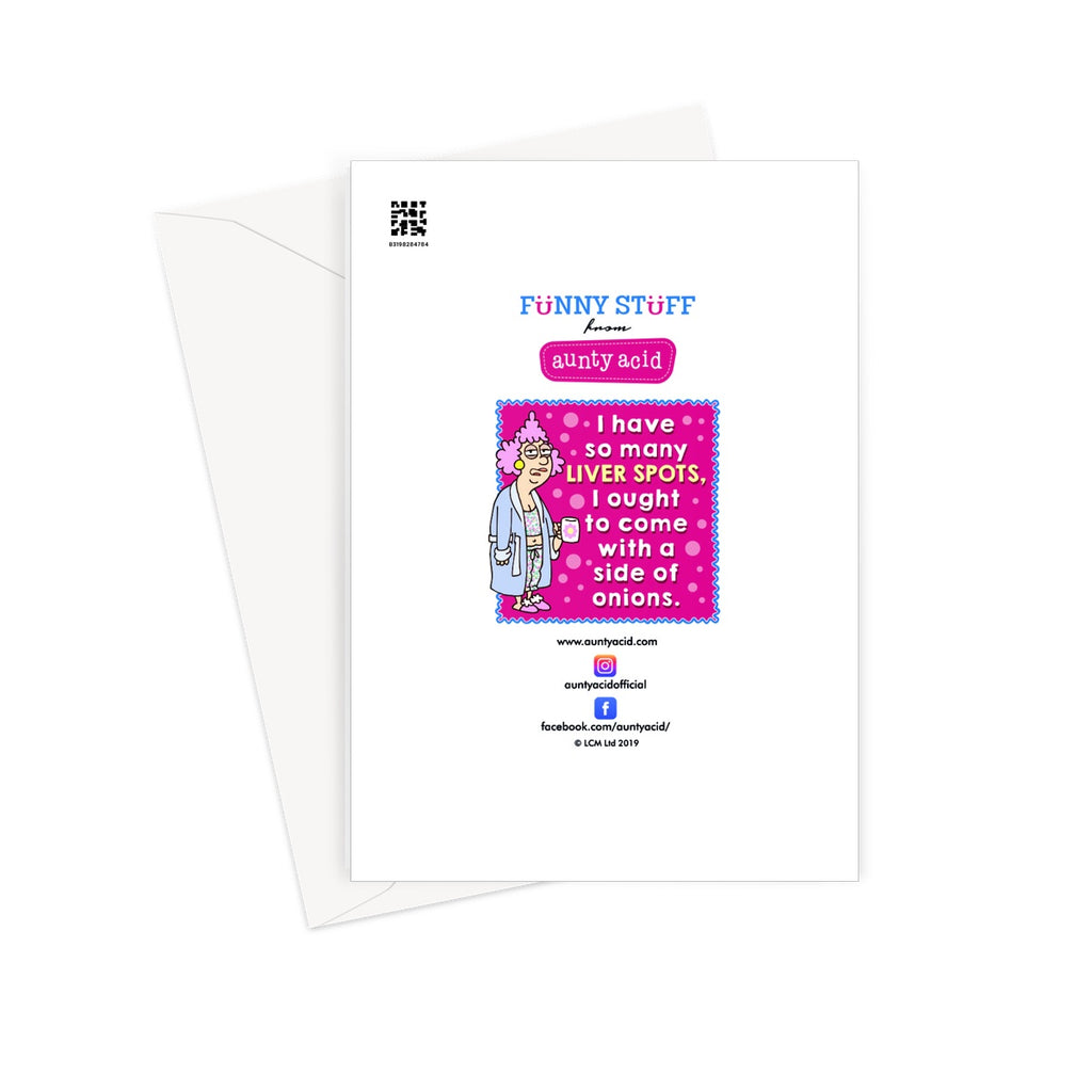 Sound Effects Greeting Card - The Official Aunty Acid Store