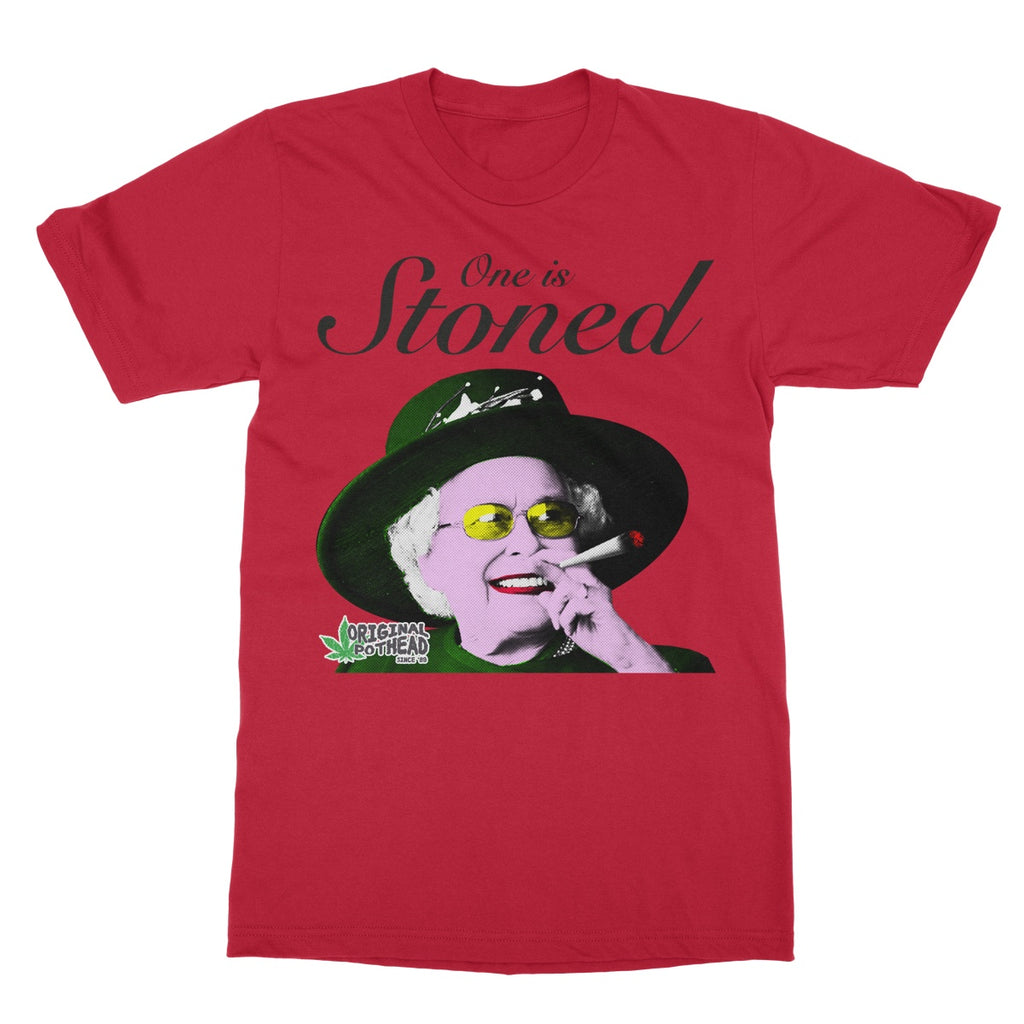 Potheads One Is Stoned T-Shirt - The Official Aunty Acid Store