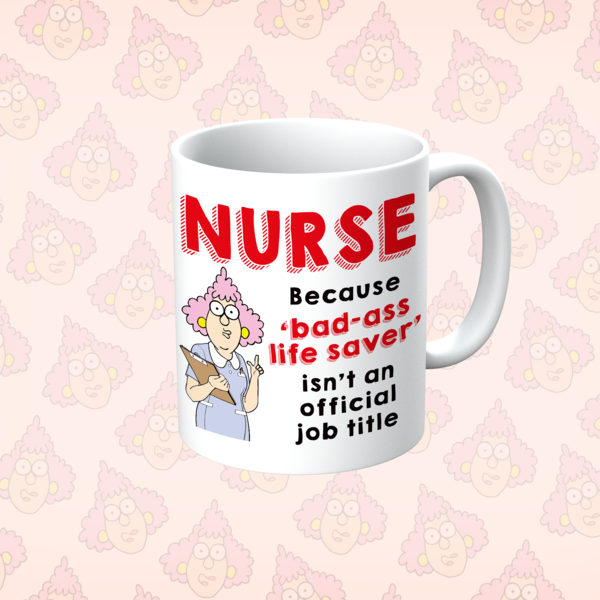 Aunty Acid Bad-ass Life Saver Mug - The Official Aunty Acid Store
