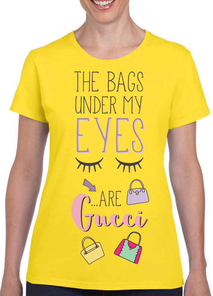 Queens Of Sass Under My Eyes T-Shirt - The Official Aunty Acid Store